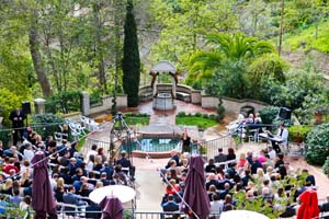 "Wedding at ""the Prado"" in Balboa Park"